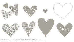 I {Heart} Hearts stamp set