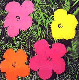 Andy Warhol's Flowers