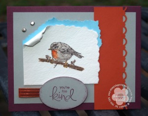 Spring Song bird card