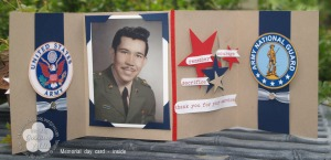Memorial day card - inside