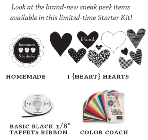 Sneak Peek new items mini kit