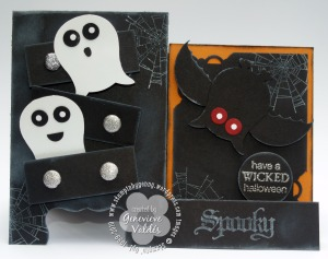 Haunted dresses card