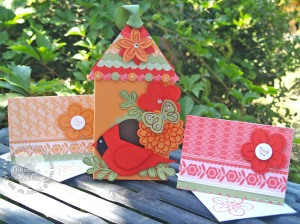 Birdhouse box and cards