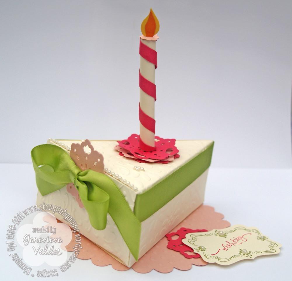 No calorie birthday cake