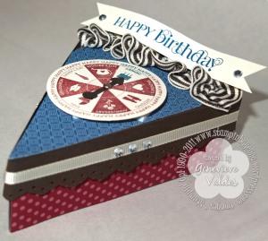 happy birthday cake box