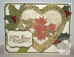 Stampin' Up! Vintage Christmas Card