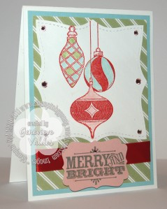 Merry and Type Christmas Card