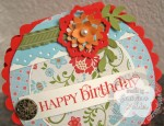 Round Birthday Card
