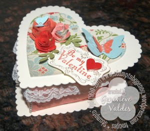 Stampin' Up! heart box