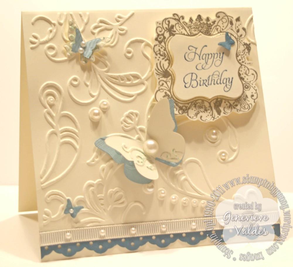 Elementary Elegance Birthday Card