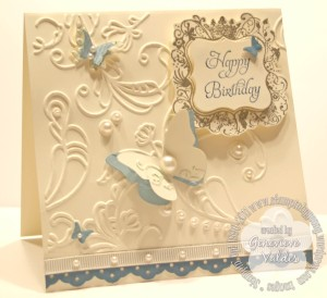 Stampin Up Elementary Elegance Birthday Card