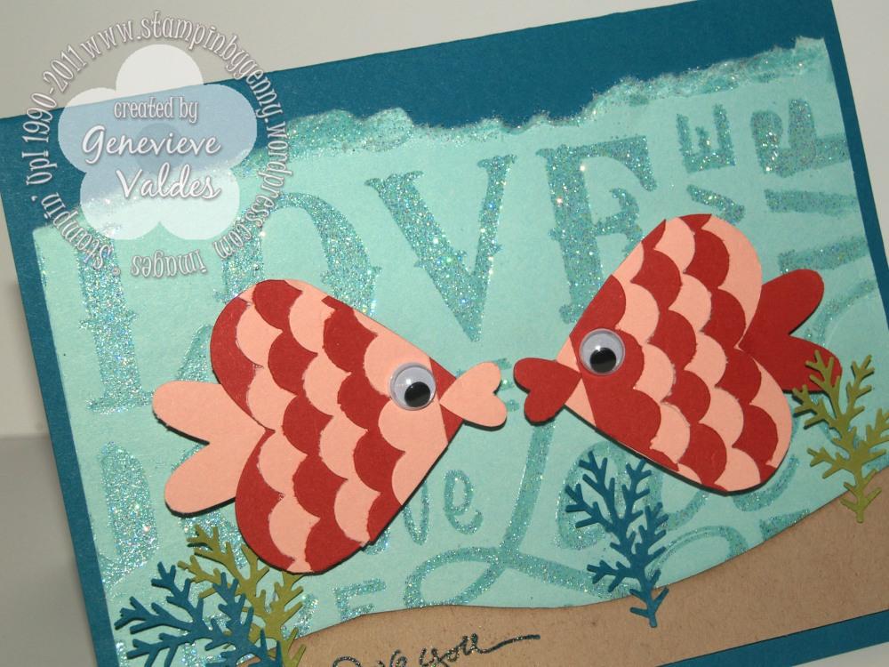 Sea of Love Valentine Card (2/3)