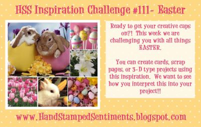 Stampin Up Easter Challenge