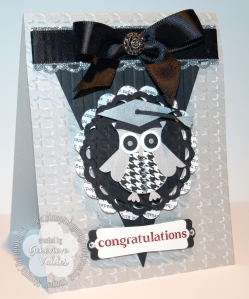 Stampin' Up! Graduation Owl card
