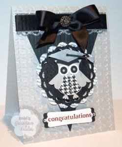 Stampin' Up! Graduation Owl card