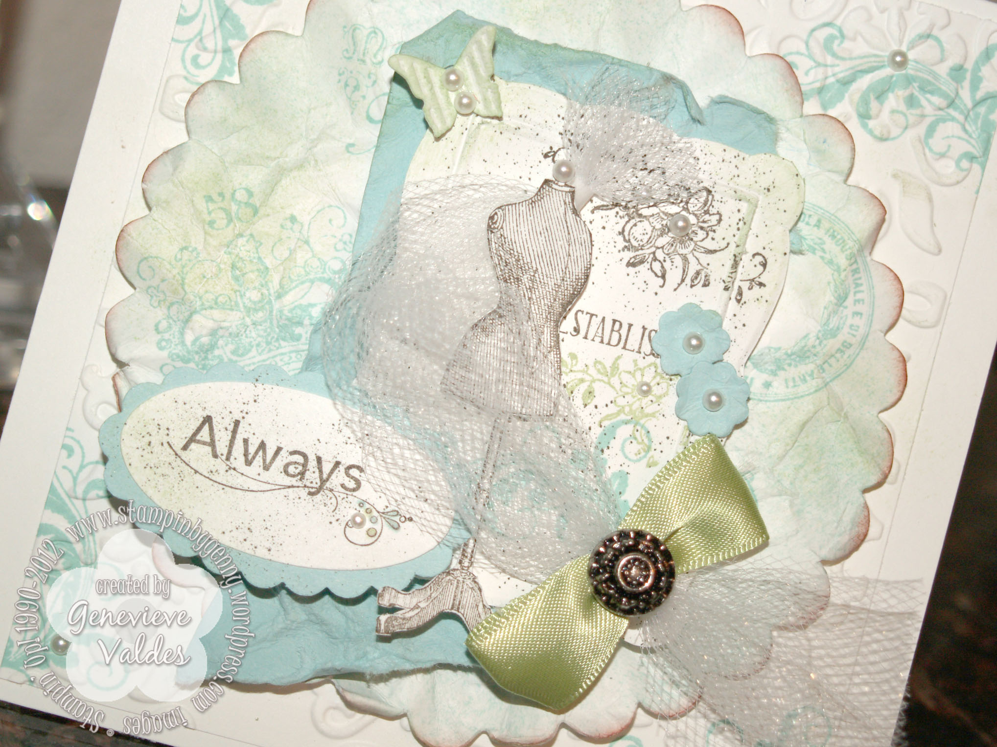 Stampin' By Genny's Blog