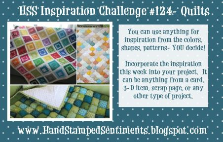 stampin up quilt inspired challenge