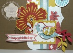 Stampin' Up! Happy Birthday card