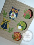 stampin up owl card