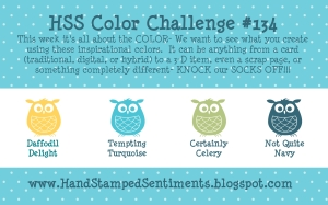 Stampin' Up! HSS color challenge