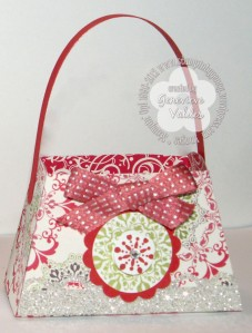 Stampin' Up! Christmas treat purse