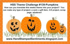 Stampin' Up! Pumpkins Challenge