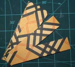Paper Pumpkin strip tutorial