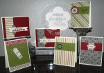 Stampin' Up! Merry Moments Christmas Cards
