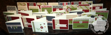 Stampin' Up! Merry Moments Scrappin' Kit Christmas Cards