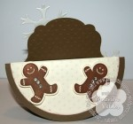 stampin up gingerbread scentsational card