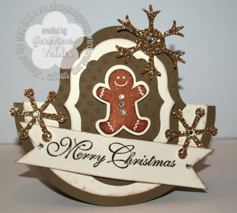 stampin up rocking christmas card