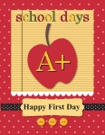 Stampin' Up! Back to schoolcard