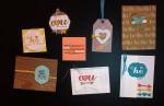 Stampin' Up! Spinner card framelits