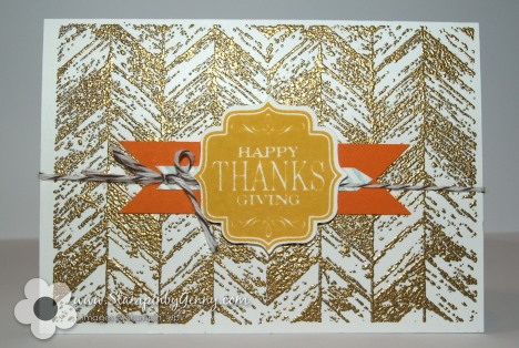 Stampin' Up! Truly Grateful card