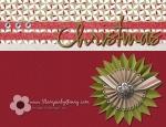 Stampin' Up My Digital Studio Christmas card