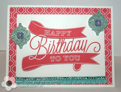 Stampin' Up! Another Great Year birthday card