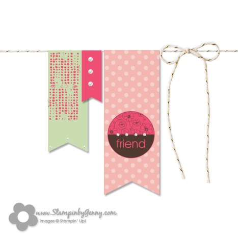 Stampin up my digital friend card