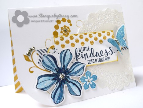 Kinda Eclectic Stampin up card