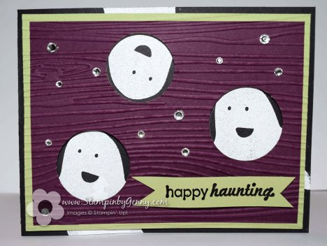 Stampin Up Fall Fest Happy Haunting card