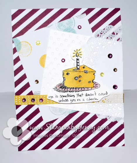Happy birthday stampin up giggle greetings card