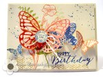 Stampin Up Birthday Butterfly Basics