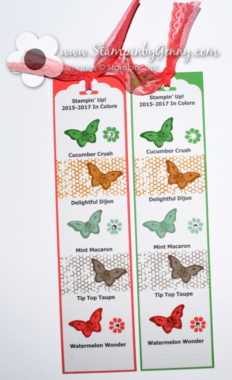 Stampin Up 2015-2017 In Colors