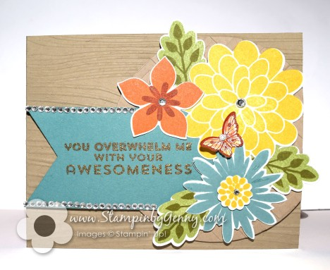Stampin' Up! FlowerPatch Awesome