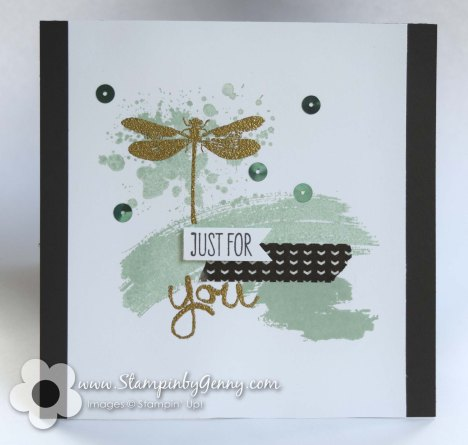 Awesomely Artistic and a Work of Art Stampin up card