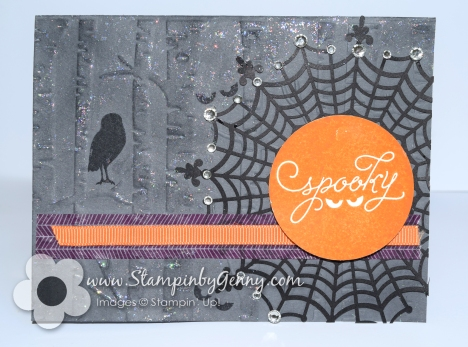 Stampin Up Halloween card