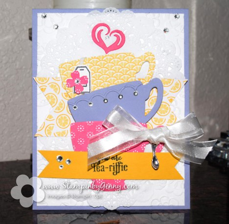 Stampin Up Nice Cuppa Card
