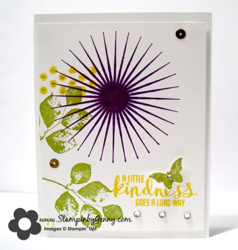 Stampin up kinda eclectic card