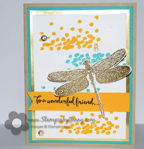 Stampin Up Dragonfly Dreams friendshipcard