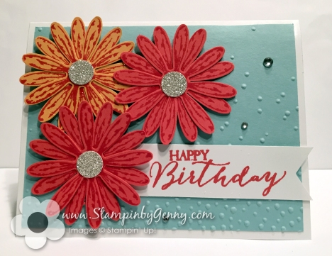 Peekaboo peach, Watermelon Wonder, Pool Party, Daisy Delight bundle, daisy card, birthday daisy delight card