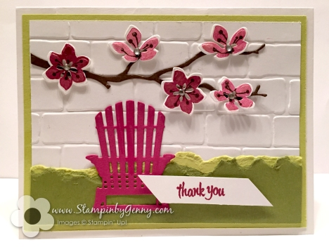 Stampin Up Colorful Seasons card
